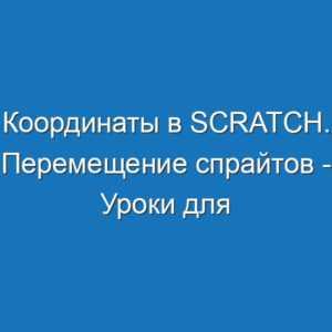Координаты в Scratch. Перемещение спрайтов - Уроки для школьников в Scratch