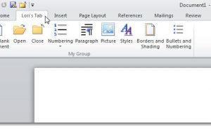 Копирование настроек Ленты и Панели быстрого доступа в Office 2010 - Информационные технологии - Информатика