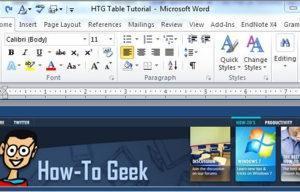 Добавляем изюминку документам Word при помощи таблиц - Информационные технологии - Информатика
